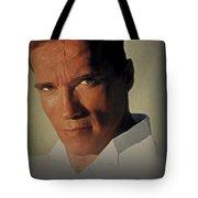 Arnold Schwarzenegger  Tote Bag