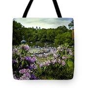 Around Bethesda Fountain Tote Bag