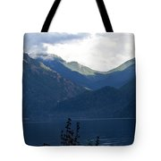 Around Lake Crescent - Washington Tote Bag