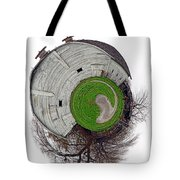 Around The Barn Tote Bag
