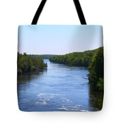 Around The Bend Tote Bag