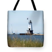 Around The Lighthouse Tote Bag