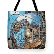 Around The World In Nyc Tote Bag