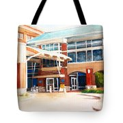 Around Work Tote Bag