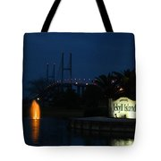 Arrival At Jekyll Island Tote Bag