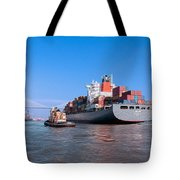 Arrival At Savannah Tote Bag