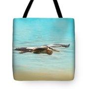 Arrival - Blue Heron - Wildlife Tote Bag