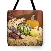 Arrival Of Autumn Tote Bag