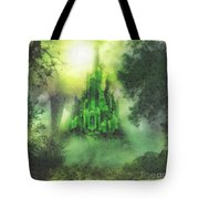 Arrival To Oz Tote Bag by Mo T