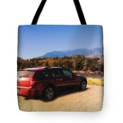 Arriving In Montana Tote Bag