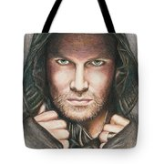 Arrow/ Stephen Amell Tote Bag