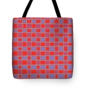 Art 1906 Elegant Graphic Pattern Squares Colorful Digitalart Graphicart Surface Texture Design Multi Tote Bag