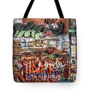 Art Alley Tote Bag