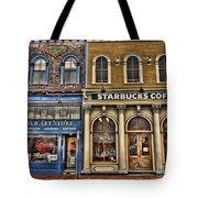 Art And Java Tote Bag
