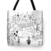 Art Attack Tote Bag