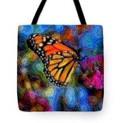 Art B-fly Tote Bag