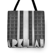 Art Deco Address In Montreal Tote Bag