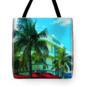 Art Deco Barbizon Hotel Miami Beach Tote Bag