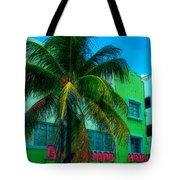 Art Deco Boulevard Hotel Miami Tote Bag