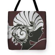 Art Deco Tote Bag by Diane Wood