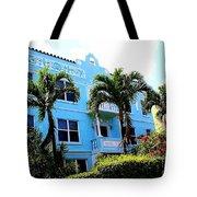 Art Deco Hotel In Miami Beach Tote Bag