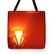 Art Deco Light Exit Sign Fox Tucson Theater Tucson Arizona 2006 Tote Bag