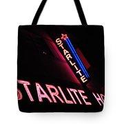 Starlite Hotel Art Deco District Miami 3 Tote Bag