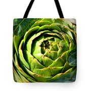 Art E. Choke - Artichokes By Diana Sainz Tote Bag