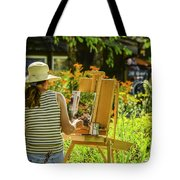 Art In The Garden Tote Bag