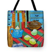 Art In The Kitchen Tote Bag