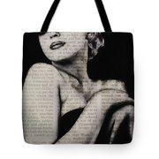 Art In The News 13-marilyn Tote Bag