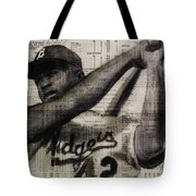 Art In Thenews 16-jackie Tote Bag