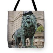 Art Institute Lion Tote Bag