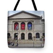 Art Institute West Facade Tote Bag