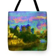 Art Museum Rhapsody Tote Bag