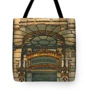 Art Nouveau Doorway In Ljubljana Tote Bag