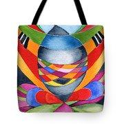 Art Nouveau Shaman Tote Bag