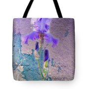Art On Plaster Tote Bag