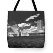 Art Over A Field Of Grey Tote Bag