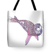 Art Seal Tote Bag