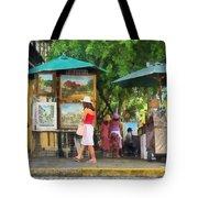 Art Show In San Juan Tote Bag