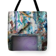 Art Table With Water And Brush Tote Bag