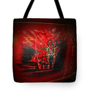 Art Work On Old Ford Truck Tote Bag