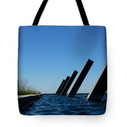 Artesa Winery Sculpture Pond Tote Bag