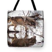Artful Crossing Tote Bag
