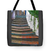 Artful Stair Steps Tote Bag