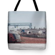Arthur Anderson Freighter Tote Bag