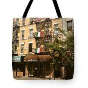 Arthur Avenue In The Bronx Tote Bag