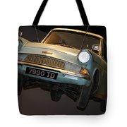 Arthur's Flying Ford Anglia Tote Bag