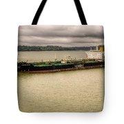 Artic Bridge In The Panama Canal Tote Bag